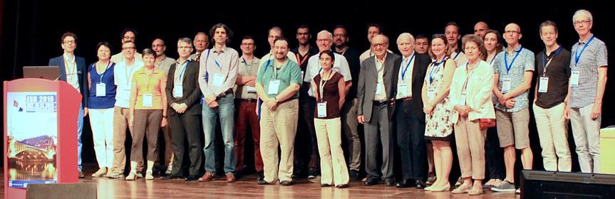 ESB2016 organisers curtain call.