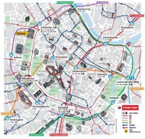 City of Vienna map