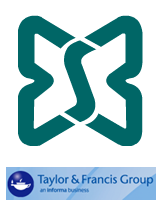 Logos of the ESB and the Taylor Francis Group, joint travel award sponsors.