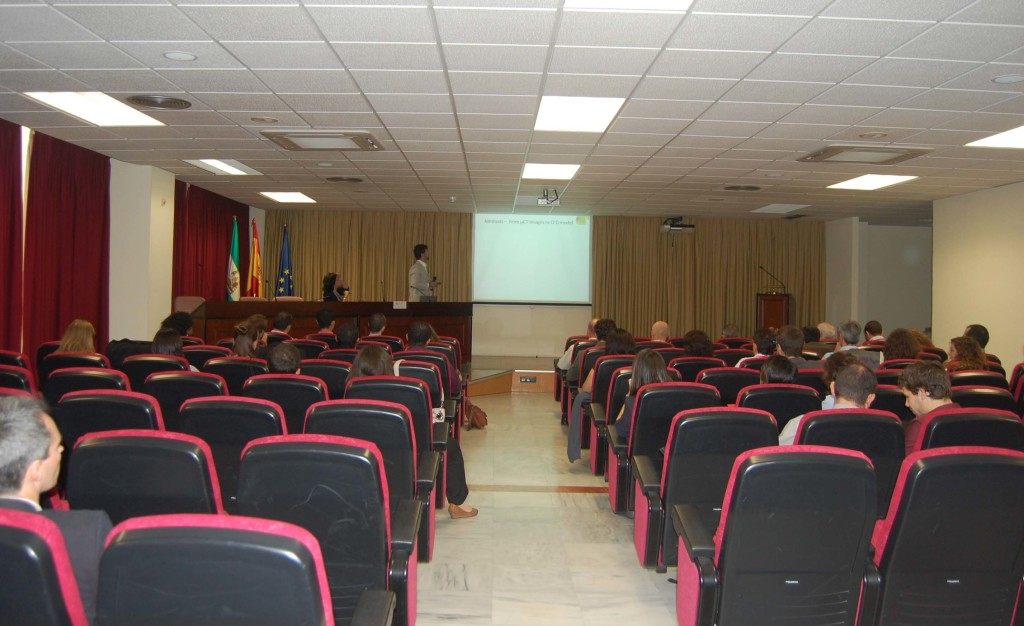 One of the sessions during the meeting.