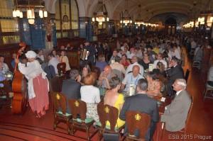 Dinner at Pilsener restaurant (courtesy of the ESB organizers)