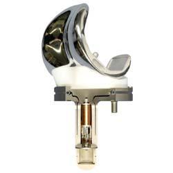 Instrumented knee prosthesis (by Georg Bergmann)